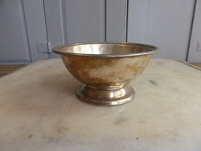 Antique silver plated hotelware dish, Elkington plate