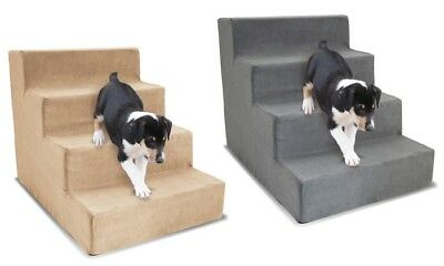 NEW Precious Tails High-Density Foam Stairs for Pets - Beige
