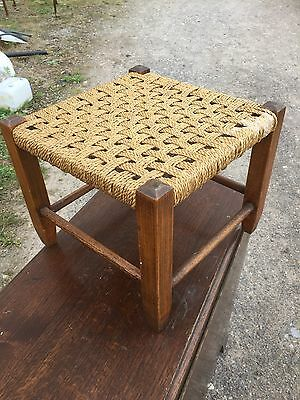 Vintage Weave Stool Traditional Style 11/7/E