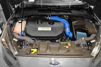 Injen SP Cold Air Intake CAI Kit For 16-17 Ford Focus RS Special Edition Blue