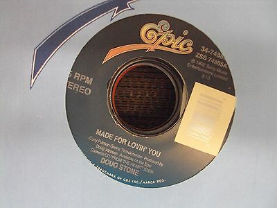"""DOUG STONE Made For Lovin' You/She's Got A Future In The Movies 7"""" 45 country"""