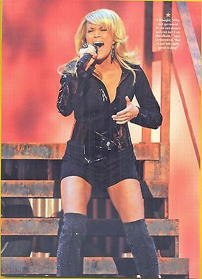 Carrie Underwood, Country Music Star in 2012 Magazine Print Photo Clipping