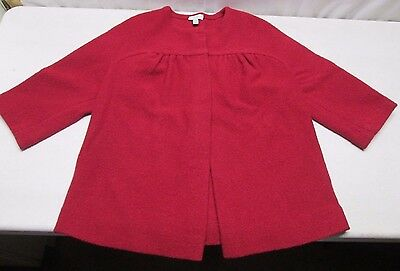 A Pea In The Pod Maternity S Small Jacket Suit Coat Top Red Wool Work Wear