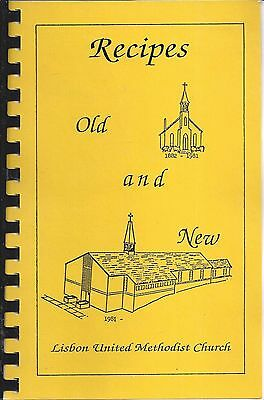 Lisbon Md 2001 United Methodist Church Recipes Old & New Cook Book Maryland Rare
