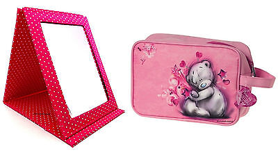 tatty teddy Sketchbook Large Me to You Bear Folding Mirror travel wash bag