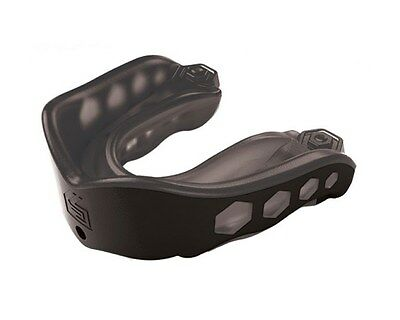 Shock Doctor Gel Max Convertible Mouthguard - Adult Black - NEW