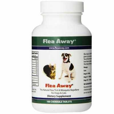 Flea Away for Cats  Dogs 100 Chewable Tablets