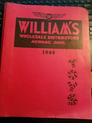 Fantastic 1949 Williams Toy Catalog Newark Ohio Marx Gilbert Buddy L 174 Pages