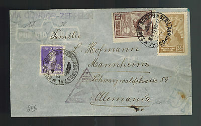 1934 Argentina LZ 127 Graf Zeppelin Cover to Germany