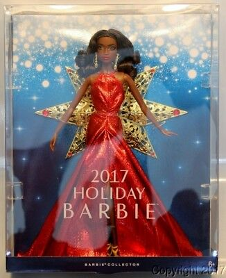 2017 HOLIDAY African American Barbie Doll IN STOCK NOW!
