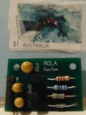 fuzz face built and tested MODULE DIY silicon transistors