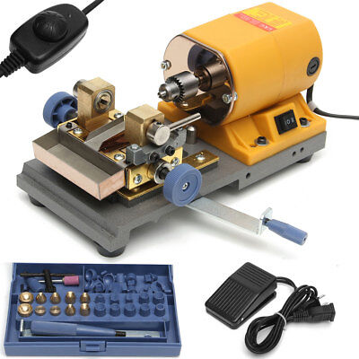 220V 380W Pearl Beads Drilling Holing Machine Driller Jewelry Punch Tools Set