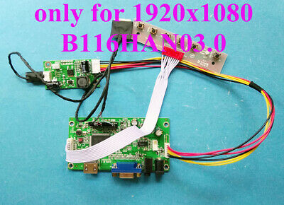 HDMI VGA AUDIO Board for 30Pin 1920x1080 eDP IPS LCD B116HAN03.0