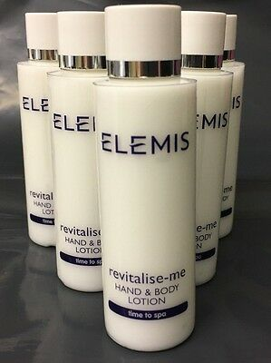 Superb Elemis Revitalise Me Hand and Body Lotion 6 x 50ml = 300ml Great Quality