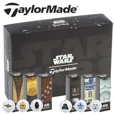 TaylorMade 2017 Burner Soft 2-Piece Mens Golf Balls - Star Wars Characters
