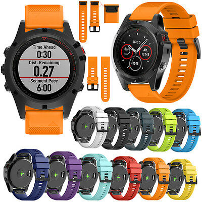 Quick Release Watch Band Wrist Strap Replacement  For Garmin Fenix 5X/3/3 HR26mm