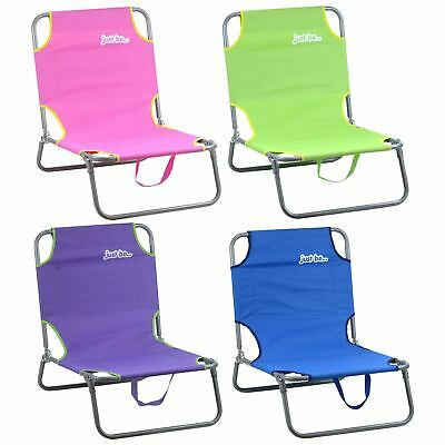 just be... Sun Chair Camping Seat Foldable Portable Beach Loungers