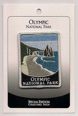 Olympic National Park Souvenir Patch Special Edition Traveler Series