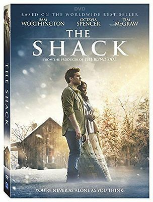 The Shack NEW (DVD, 2017)  Action, Adventure, Drama NOW SHIPPING !