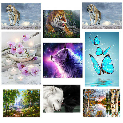 DIY 5D Diamond Painting Embroidery Cross Crafts Stitch Kit Home Room Decoration