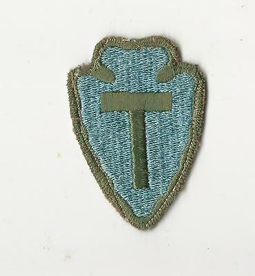 Us Army Patch - 36Th Infantry Division - Od Border - Original Wwii Era # 1