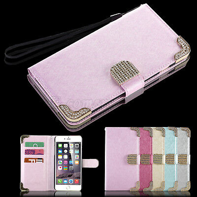 Luxury Magnetic Wallet PU Leather Stand Case Cover for Apple iPhone 6/6S 4.7""