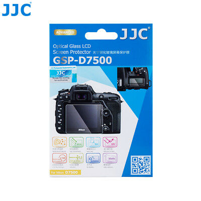 "JJC 0.01""Ultra-thin Optical Tempered Glass Screen Film Protector for NIKON D7500"