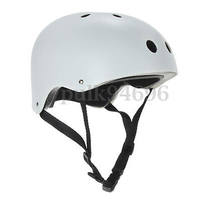 Bicycle Cycling Scooter Ski Skate Skateboard Kids Adult BMX Protect Helmet White