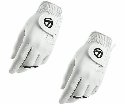 New - TaylorMade 2017 Men's All Weather Golf Glove 2 PACK - Right Handed Golfer
