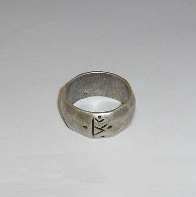 THE HOBBIT Replica ANELLO RUNICO Thorin Scudo Di Quercia RUNIC RING Oakenshield