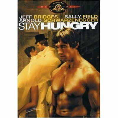 Stay Hungry On DVD With Jeff Bridges Drama Disc Only E57
