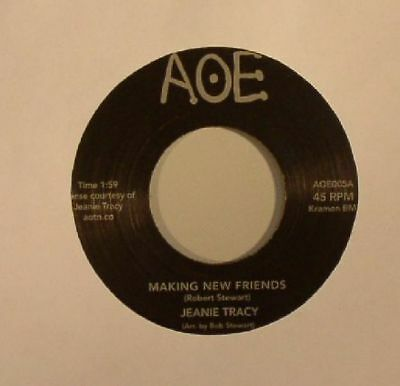 """TRACY, Jeanie - Making New Friends - Vinyl (limited 7"""")"""