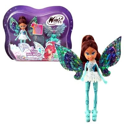 Winx Club - Tynix Mini Magic Puppe - Fee Layla mit Verwandlungsfunktion