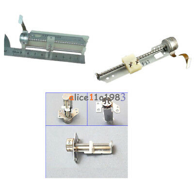 B-04 F/E Drive Stepper Motor Screw A Nut Slider Small Stages 2-Phase 4-Wire Kits