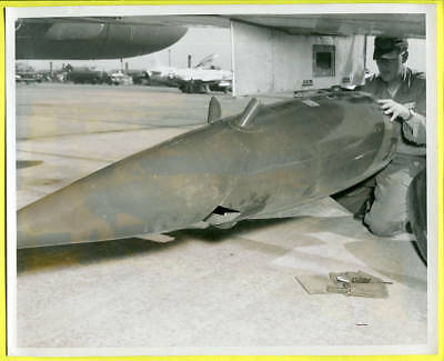 1950-60s T-33 Drop Tank Pod 3630th Consolidated Maintenance Squadron Photo #9