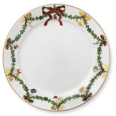 Royal Copenhagen Speiseteller Star Fluted Christmas (27cm)