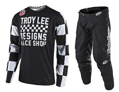 New 2018 Troy Lee Designs Gp Checker Motocross Gear Combo All Colors All Sizes