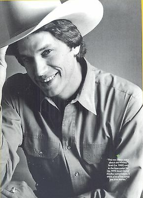 George Strait, Country Music Star in 2012 Magazine Print Photo Clipping