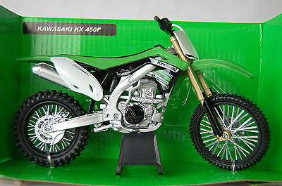 KAWASAKI  KX450F  2012  1/12th  MODEL  MOTORCYCLE