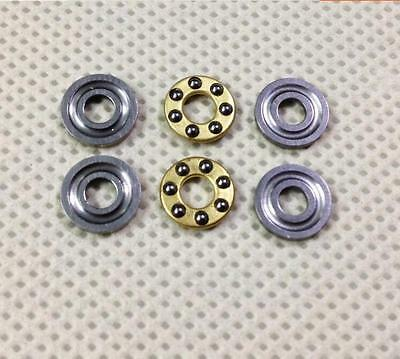 20 x Thrust Bearing F8-16M 8*16*5mm Axial Ball Bearings