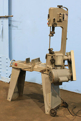 "6"" W 4"" H Jet HVBS-462 HORIZONTAL BAND SAW, 1/2 HP, Single Phase, Vise"