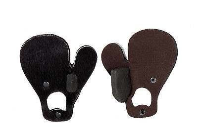 BUCK TRAIL fingertab felltab schiesstab LH RH capelli di vitello fingertrenner
