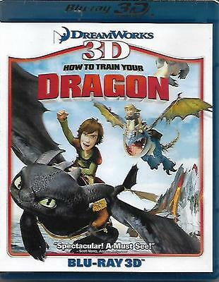 How to Train Your Dragon Blu Ray 3D NEW R1
