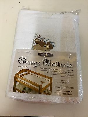 New Sweet Dreams Baby Change Table Mat Mattress Cotton Soft Waterproof Insert