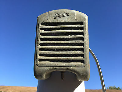 Unrestored Simplex Mini Tombstone Drive-In Movie Speaker With New Cone And Cord