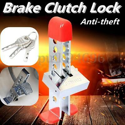 Auto Anti-theft Device Clutch Car Brake Stainless Strong Security Lock Tool key