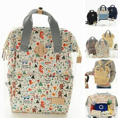 Large Capacity  Mummy Maternity Nappy Diaper Bag Baby Travel Backpack Tote Bags