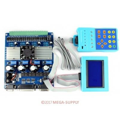 Upgraded 4Axis CNC DIY TB6560 Stepper Motor Driver Set +LCD Display +Control Pad