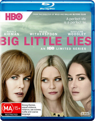 Big Little Lies Season / Series 1 Blu-ray Region B New!