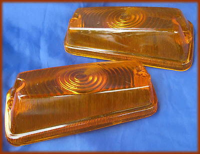 FIAT 850 BERLINA/SPECIAL - 2 FANALI ANT Front Lenses